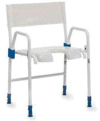 Maniglie braccioli seggiole ausili per disabili e anziani - Sedia da bagno per disabili ...