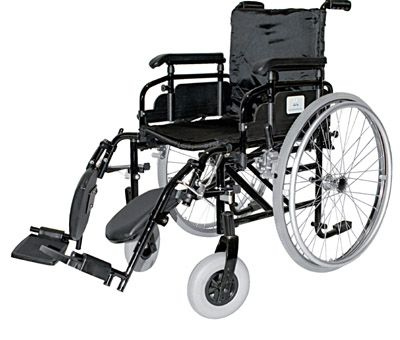 Carrozzine ausili per disabili e anziani online vendita for Sedia a rotelle ruote piccole