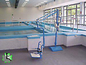 Sollevatori Mobili Per Piscina : Sollevatore per piscina a piastra pavimentale ausili per disabili
