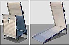 Scivoli rampe mobili ausili per disabili e anziani online for Sedia a rotelle ruote piccole