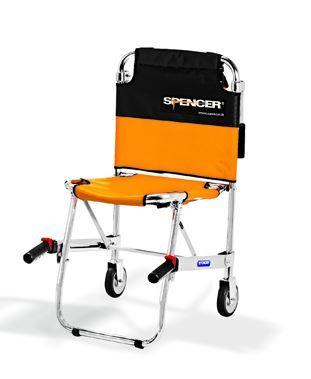 SEDIA PORTANTINA 2 RUOTE SPENCER 420 . Ausili per disabili ...