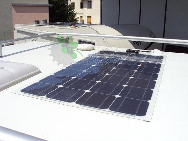 Pannello Solare Camper : Pannello solare per camper e nautica cp ausili