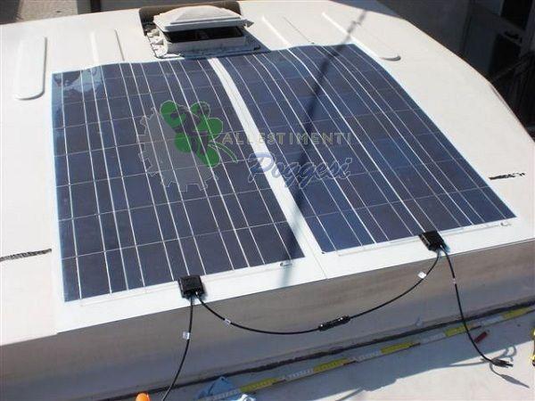 Pannello Solare Kit Camper : Pannello solare per camper e nautica cp l ausili