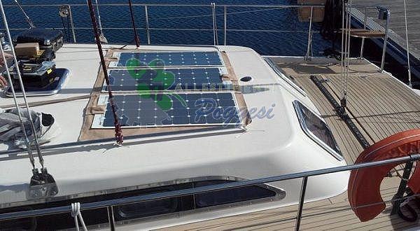 Pannello Solare Camper : Pannello solare per camper e nautica cp l ausili
