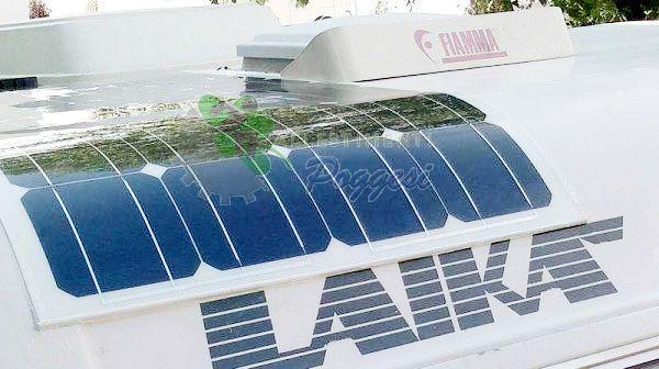 Pannello Solare Per Camper Offerta : Pannello solare per camper e nautica cp q ausili