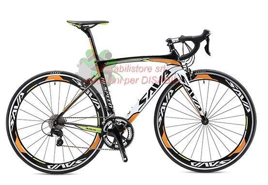 Bicicletta Da Corsa In Fibra Di Carbonio R5800 22s Ausili Per