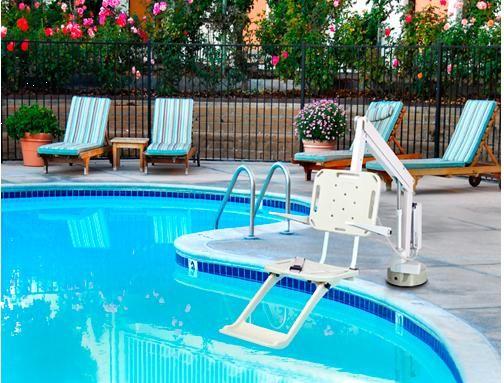 Sollevatori Mobili Per Piscina : Sollevatore da piscina semimobile axs ausili per disabili e