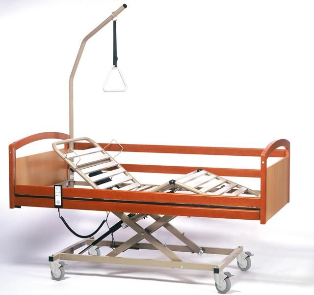 Letto ortopedico pieghevole 3 motori 120 cm ausili per disabili e anziani online - Letto ortopedico usato ...