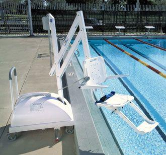 Sollevatore da piscina mobile pal ausili per disabili e - Sollevatore piscina per disabili ...