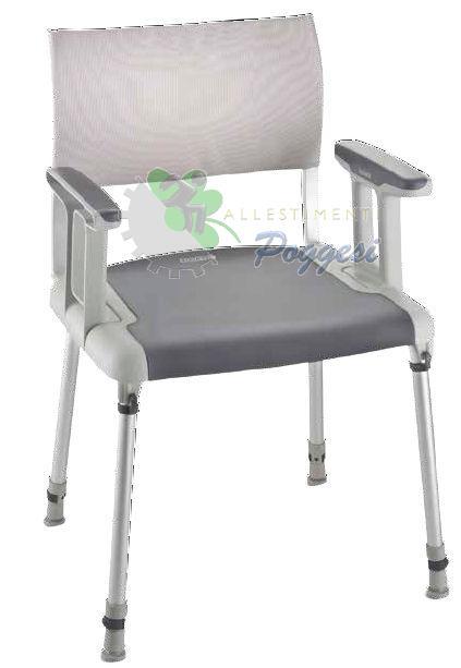 Sedia da doccia per disabili sorrento ausili per disabili - Sedia da bagno per disabili ...