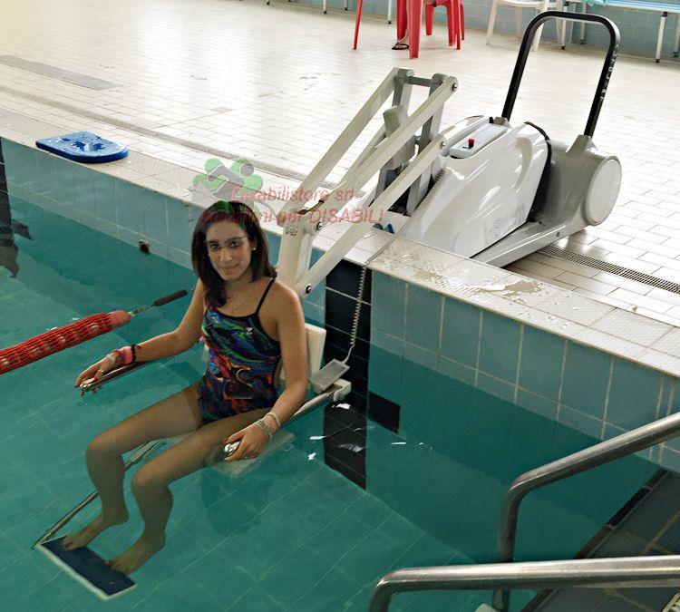 Sollevatore per piscina i swim 2 ausili per disabili e - Sollevatore piscina per disabili ...