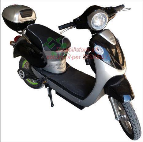 Bicicletta Elettrica Velocipede Con Pedalata Assistita Mod Eb 069a