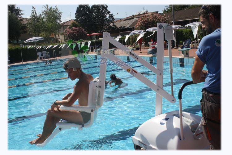 Sollevatori Mobili Per Piscina : Sollevatore da piscina mobile pal ausili per disabili e anziani
