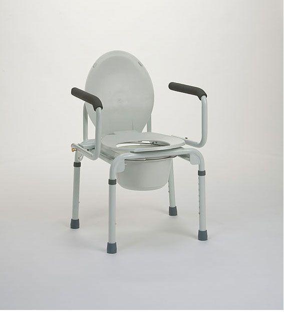 Sedia wc da comodo ausili per disabili e anziani online - Sedia da bagno ...
