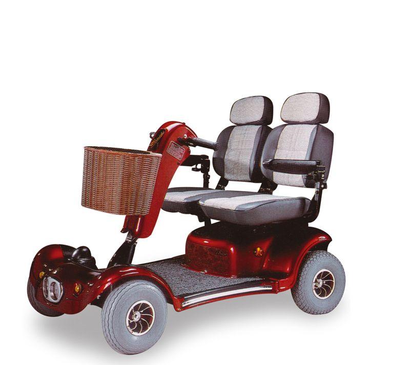 Scooter Oberon 4 Ruote 2 Posti A Sedere Ausili Per Disabili E