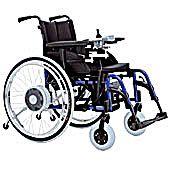 Elettrificazione della carrozzina con comando joystick for Joystick per sedia a rotelle