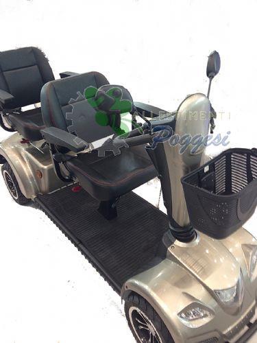 Scooter elettrico carpo limo a 2 posti ausili per disabili e anziani online - Letto elettrico per disabili usato ...