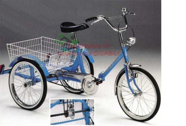 Triciclo A Pedali Con Differenziale Modello 1090 Ausili Per