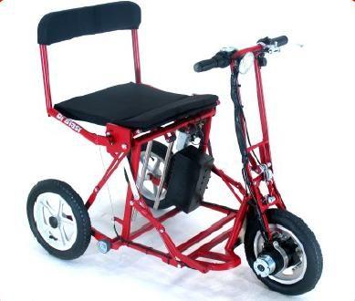 Triciclo elettrico da viaggio pieghevole automaticamente for Sedia a rotelle automatica