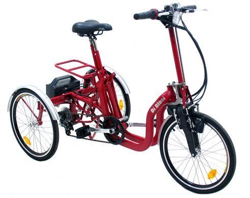 triciclo elettrico pieghevole con pedalata assistita. Black Bedroom Furniture Sets. Home Design Ideas